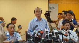 Thứ trưởng Bộ Tài nguyên và Môi trường Võ Tuấn Nhân cho rằng, Formosa vẫn chưa có liên quan gì đến cá chết hàng loạt. Ảnh: Internet
