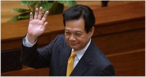 """Cựu Thủ tướng Nguyễn Tấn Dũng từ biệt mọi người về """"làm người tử tế"""". Ảnh: internet"""