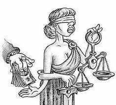 Tiền có thể mua được công lý? Nguồn: internet