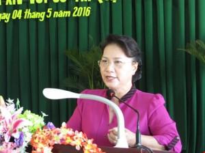 Chủ tịch QH Nguyễn Thị Kim Ngân. Nguồn: internet