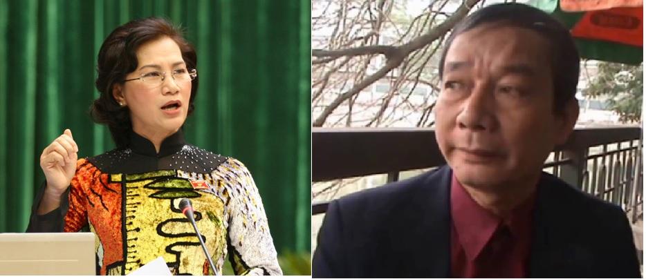 Chủ tịch QH Nguyễn Thị Kim Ngân và blogger Nguyễn Tường Thụy