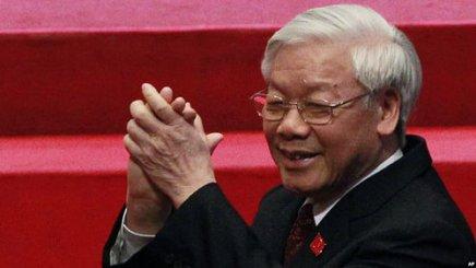 TBT Nguyễn Phú Trọng. Ảnh: AP