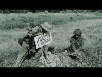 Ảnh: một góc của cuộc chiến tranh 1979 chống Trung Cộng xâm lược. Ảnh: internet