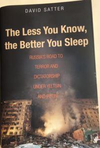 "Ảnh bìa sách ""The Less You Know the Better You Sleep""."