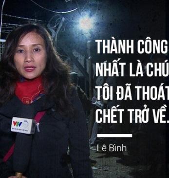 BTV Lê Bình - VTV 24. Ảnh: TTT/ Soha