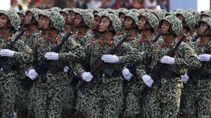 Chi tiêu quân sự của Việt Nam năm 2015 đạt 4,4 tỉ đôla, chiếm 8% tổng chi tiêu chính phủ. Ảnh: Reuters.
