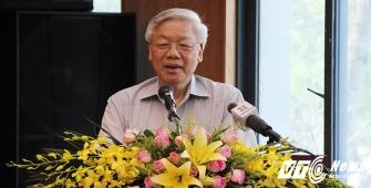 TBT Nguyễn Phú Trọng. Ảnh: VTC