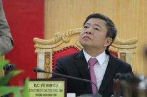 Ông Võ Kim Cự, một trong những người đã rước Formosa vào Hà Tĩnh. Nguồn: internet