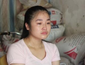Đạt 24.5 điểm xét tuyển khối C nhưng có khả năng Trang phải lỡ hẹn với giảng đường đại học vì nhà nghèo. Ảnh: báo DT