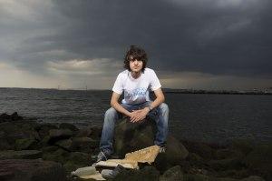 Cậu bé Boyan Slat, tác giả của dự án Ocean Cleanup. Ảnh: internet