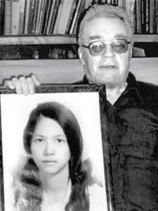 Maslov cần di ảnh của vợ, cô Lê Vũ Anh. Nguồn: