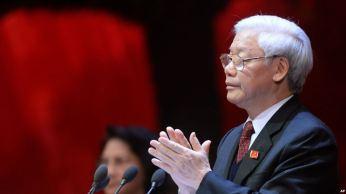 Tổng Bí thư Việt Nam Nguyễn Phú Trọng. Ảnh: AP