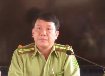 Ông Đỗ Cường Minh - Chi cục trưởng Chi cục Kiểm lâm tỉnh Yên Bái