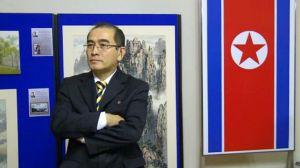 Ông Thae Yong Ho khi còn là Phó Đại sứ ở sứ quán Triều Tiên tại London. Ảnh: AFP