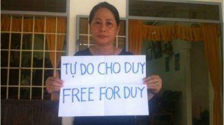 Mẹ của Nguyễn Hữu Quốc Duy được cho là không thể tham dự phiên tòa. Nguồn: FB Nguyễn Ngọc Như Quỳnh.