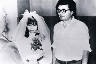 Đám cưới Lê Vũ Anh và Maslov. Nguồn: tư liệu gia đình Maslov.