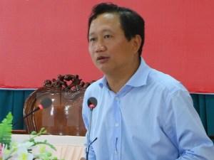 Ông Trịnh Xuân Thanh. Nguồn: báo DT.