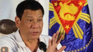 Ông Duterte có lúc dọa là Philippines sẽ rút khỏi LHQ, tuy sau đó nói rằng ông chỉ đùa. Ảnh: BBC/ internet