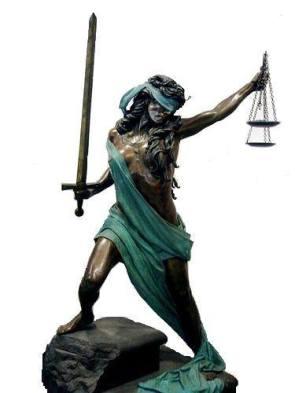 Nữ thần Công lý. Ảnh: internet