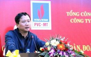 Trịnh Xuân Thanh khi đang là bí thư đảng ủy, chủ tịch Tổng Công Ty Cổ Phần Xây Lắp Dầu Khí Việt Nam. Hình: Ảnh: PVC-MT