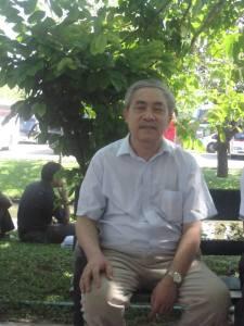 Nhà thơ Thái Bá Tân. Nguồn: FB TBT