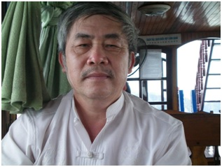 Nhà thơ Thái Bá Tân. Ảnh: FB TBT