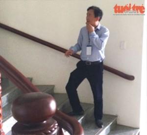 Lần cuối cùng người ta thấy ông Thanh ở Hậu Giang - 13.7.2016. Ảnh: Tuổi trẻ