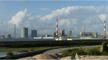 Nhà máy thép Formosa ở Hà Tĩnh. Ảnh: AFP