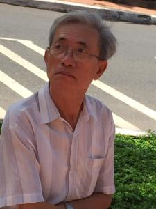 ông N.K. T. Ảnh: FB Trương Nam Thi