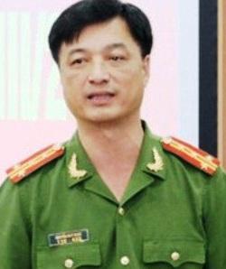 Đại tá Nguyễn Duy Ngọc, PGĐ kiêm Thủ trưởng Cơ quan CSĐT Công an Hà Nội. Nguồn: internet.