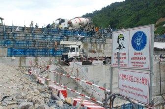 Thủy điện Sông Bung 4 đang được nhà thầu của Trung Quốc thi công - Ảnh HS/ PetroTimes
