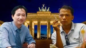 Trịnh Xuân Thanh (trái) và blogger Người Buôn Gió. Nguồn: FB Nguyễn Tấn Thành/ internet