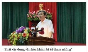 Ông Đinh Thế Huynh và câu nói ngây ngô. Ảnh: FB Chau Doan/ internet