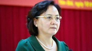 Bà Trà, 52 tuổi, từng là Phó bí thư Tỉnh uỷ, Chủ tịch UBND tỉnh Yên Bái. Ảnh: NLĐ.