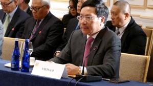 Tư Liệu- Phó Thủ tướng kiêm Bộ trưởng Ngoại giao Việt Nam, Phạm Bình Minh. Ảnh: VOA