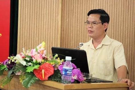 Bí Thư Triệu Tài Vinh trong một buổi họp. Ảnh: nguoilaodong.