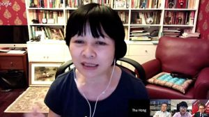 Tiến sỹ Khuất Thu Hồng cho rằng truyền thông mạng đang phát huy được sức mạnh giám sát và phản biện của mình và ngày càng phát triển rộng rãi. Ảnh: BBC
