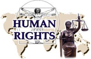 Quyền con người ở VN không có vì thần công lý đã bị bịt mắt. Nguồn: internet