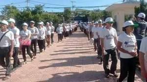 Ngư dân miền Trung xuống đường phản đối Formosa gây thảm họa các chết hàng loạt. Nguồn: internet