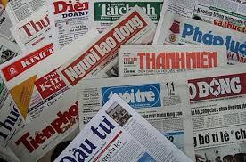 Báo chí Cách mạng Việt Nam là tiếng nói của Đảng, Nhà nước và các tổ chức chính trị, xã hội... Nguồn: internet