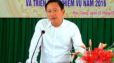 Ông Trịnh Xuân Thanh, nguyên Phó Chủ tịch tỉnh Hậu Giang của Việt Nam, đang bị chính quyền phát lệnh truy nã quốc tế. Ảnh: báo Tuổi Trẻ.