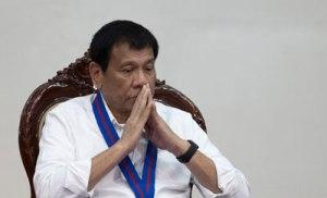 Tổng thống Philippines Rodrigo Duterte. AFP photo