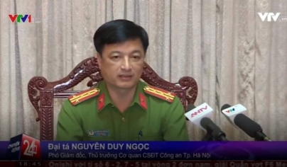 """Đại tá Nguyễn Duy Ngọc: """"Cảnh sát Đông Anh gạt tay trúng má phóng viên"""""""