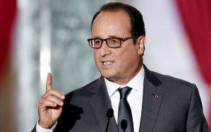 Tổng thống Pháp Francois Hollande. Photo: ALAIN JOCARD/AFP