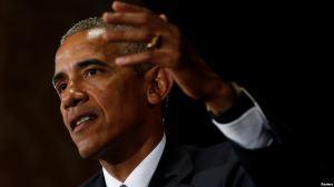 Tổng thống Mỹ Barack Obama tại cuộc họp báo sau khi kết thúc Hội nghị Thượng đỉnh G-20 ở Hàng Châu, Trung Quốc, ngày 5 tháng 9 năm 2016. Ảnh: Reuters.