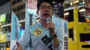 Nathan Law, Nghị sĩ trẻ nhất Hongkong, một trong những thủ lĩnh của phong trào dù. Nguồn: internet