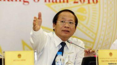 Bộ trưởng 4 T Trương Minh Tuấn. Nguồn: Tuổi Trẻ.