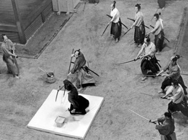 Mổ bụng tự sát, cách chết vì anh dự của võ sĩ đạo Nhật Bản. Ảnh: internet