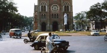 Bình yên Sài Gòn xưa. Ảnh: internet