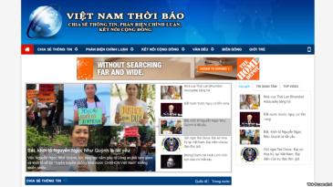 Trang vntb.org bật lên như một xung kích dữ dằn, hùng hổ tấn công vào nhiều người hoạt động cho dân chủ và nhân quyền, bôi nhọ và xúc phạm nhân phẩm không thương tiếc và bất chấp căn cứ.